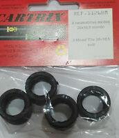 1//32 brm 4x classic tires 20 x 7 mm-resin kit ninco cartrix scratch