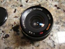Auto Sears mc 28mm 1:2.8 Lens Camera Vintage Pentax k mount
