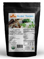 ORGANIC MORINGA LEAF POWDER 8 oz. USDA Certified Non-GMO - Superfood