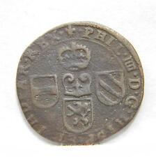 NETHERLANDS Namur-Spanish occupation-Pilip IIII era: scarce 1643 coper Liard; VF