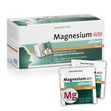 Sanct Bernhard Magnesium 400 Direkt Pulver Inhalt 60 Portionsbeutel