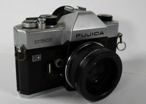 Fujica ST801 35mm SLR With Lens