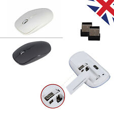 2.4Ghz Wireless Cordless Mouse Mobile Optical Scroll for PC Laptop Computer +USB