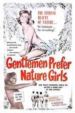 Gentlemen Prefer Nature Girls Poster 01 Metal Sign A4 12x8 Aluminium