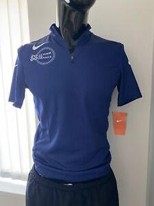 Nike Vintage Retro 2000 Le Tour De France Blue Cycling Jersey -size Large