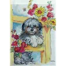 "Dog On Fence 12.5"" X 18"" Garden Flag 11-3507-292 Rain Or Shine Seasonal"