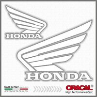 2x Adesivi HONDA ala Bianco compatibile con NC700-750X VFR1200X CB500F CRF1000L