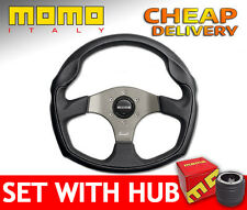 Momo Tomcat 350 mm Steering Wheel SET with BOSS KIT HUB to your car