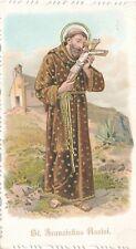 Nr 14281  Andachtsbild Präge Litho St.Franziskus Assisi