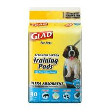 Glad For Pets Heavy Duty Ultra-Absorbent Activated Charcoal Puppy Pads With Leak