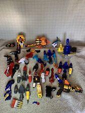 Power Rangers Mega Parts Lot
