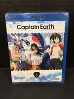 Captain Earth - Collection 2 Episodes 14-25 (Blu-ray) Anime Series NEW SEALED!