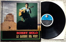 BOBBY SOLO / LE CANZONI DEL WEST - LP (2a stampa 1969 - BLU LABEL) TOP RARE !!!