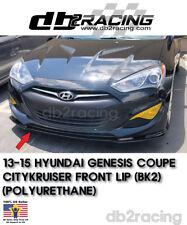 Original CK Genesis Front Lip (Urethane) Fits 13-16 Hyundai Genesis Coupe KDM