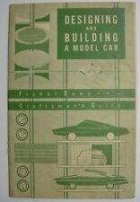 Fisher Body Craftsman's Guild-1963 Model Car Scholarship Award Program-Brochure