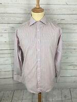 Men's Ben Sherman Shirt - Size Medium - Striped - Great Condition