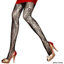 fishnet Pantyhose Patterned Womens Casual Black 20D Style Tights Trendy Sheer
