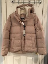 NWT Abercrombie And Fitch Women Ultra Parka In Blush Pink $180 M Medium