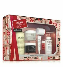Philosophy glow all the way home anti-aging skin care Time In A Bottle gift set
