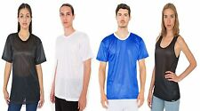 American Apparel Poly Mesh AthleticTee Shirt Tanktop Funktionsshirt Unisex Sport