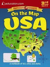 On the Map USA: A workbook of U.S. cities and states, Education.com, Good Book