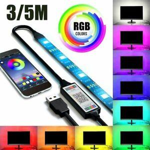 WiFi LED TV Band Streifen RGB dimmbar Stripe APP Licht-Leiste SMD Lichtschlauch