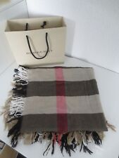 Burberry schal Tuch 230*25 100 Merino wolle London