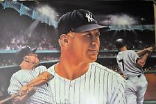 #764412dpbbee Mickey Mantle 24x1x8 Rare Poster, Stopts Impressions