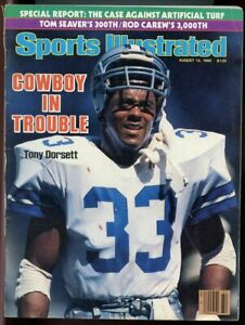 SI: Sports Illustrated August 12 1985 Cowboy in Trouble Tony Dorsett NO LABEL VG