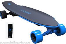 Yuneec E-GO 2 Electrostatique Skateboard Long Board Royal Vagues bleu