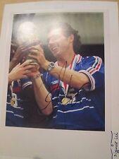 "Laurent Blanc France PSG Manchester United signed Football Photo 7x5"" /bi"