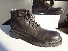 AIRSTEP A.S.98 Herren Schuhe Stiefel Boots Leder Schwarz Europe Gr.45 Neuw