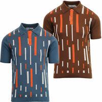 Velocitee Speed Shop Da Uomo Polo Shirt Mutaforma annata Rockabilly Hot Rod W17050