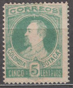 Colombia Boyaca Correo Yvert 1 * Mh