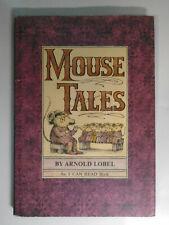 Mouse Tales, Arnold Lobel, An I Can Read Book, Harper & Row, DJ, 1972