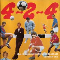 RICHMOND FESTIVAL OF FOOTBALL ~ 4-2-4 ~ 1993 CD OF FOOTBALL SONGS & CHANTS etc