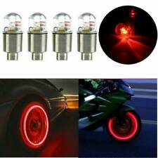 4x LED Dragonfly Auto Car Wheel Tyre Tire Air Valve Stem Caps Light Lamp Decor