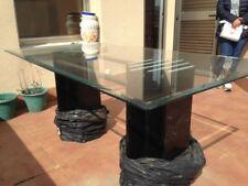 Mesas de comedor de color principal transparente para el hogar