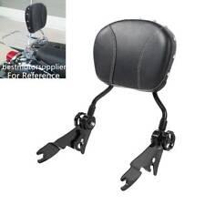 Adjustable Detachable Backrest SissyBar Fits For Harley Electra Glide FLHR 09-20