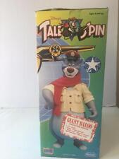 """TaleSpin Tale Spin Disney Giant Baloo Figure Playmate 2751 12"""" Articulated NIB"""