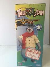 "TaleSpin Tale Spin Disney Giant Baloo Figure Playmate 2751 12"" Articulated NIB"