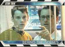 Star Trek The Movie 2009 Behind The Scenes Chase Card B2