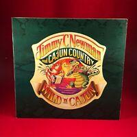 JIMMY C. NEWMAN Wild 'N' Cajun 1984 German  Vinyl LP EXCELLENT CONDITION