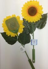 SUNFLOWER FLY SWAT FLY ZAPPER KILLS FLIES, MOSQUITOES & INSECTS FLY SWATTER