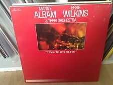 MANNY ALBAM ERNIE WILKINS & THEIR ORCHESTRA THE DRUM SUITE RARE RCA LP VINYL