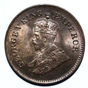 1921 India - British Half 1/2 Pice - George V - Lot 781