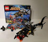 LEGO DC Comics Super Heroes BatmanMan-BatAttack (76011) FULLY COMPLETE