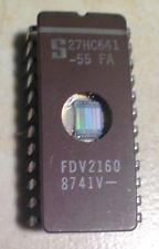 Signetics 27HC641-55FA 27HC641 64K High Speed EPROM - UV Eraseable