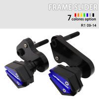 Frame Slider Crash Pad Cover Protector For Yamaha YZF R1 2009-2014 2012 2013