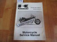 2000 2001 2002-2006 Kawasaki Vulcan 1500 VN1500 Classic Fi Service Manual OEM